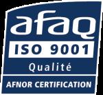 Entreprise certifiée ISO 9001 : 2015